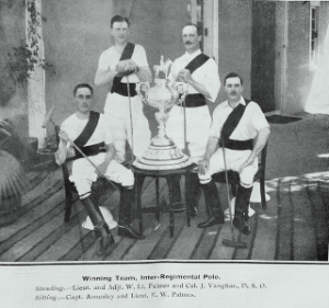 Winning Team , Inter-Regimental Polo.
