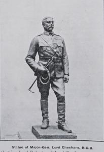 Statue of Major-General Lord Chesham K. C. B.