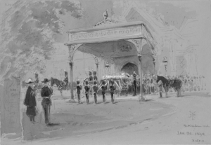The Tenth Form the Guard at Windsor Station