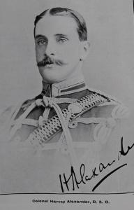 Colonel Harvey Alexander D. S. O.