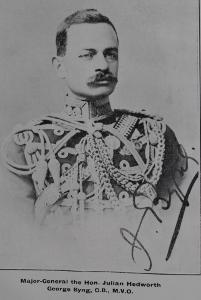 Major-General the Hon. Julian Hedworth George Byng C. B., M. V. O.